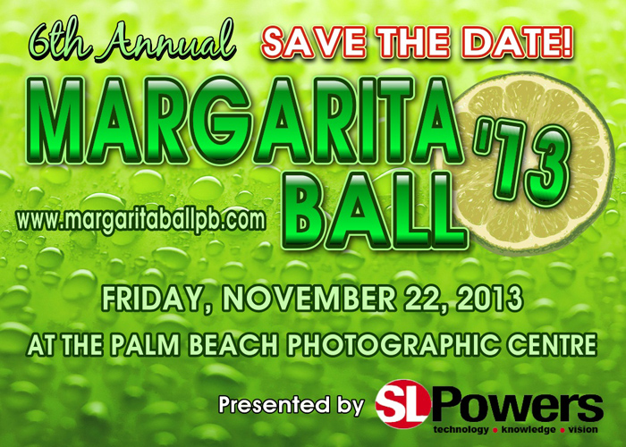 Margarita Ball Save the Date
