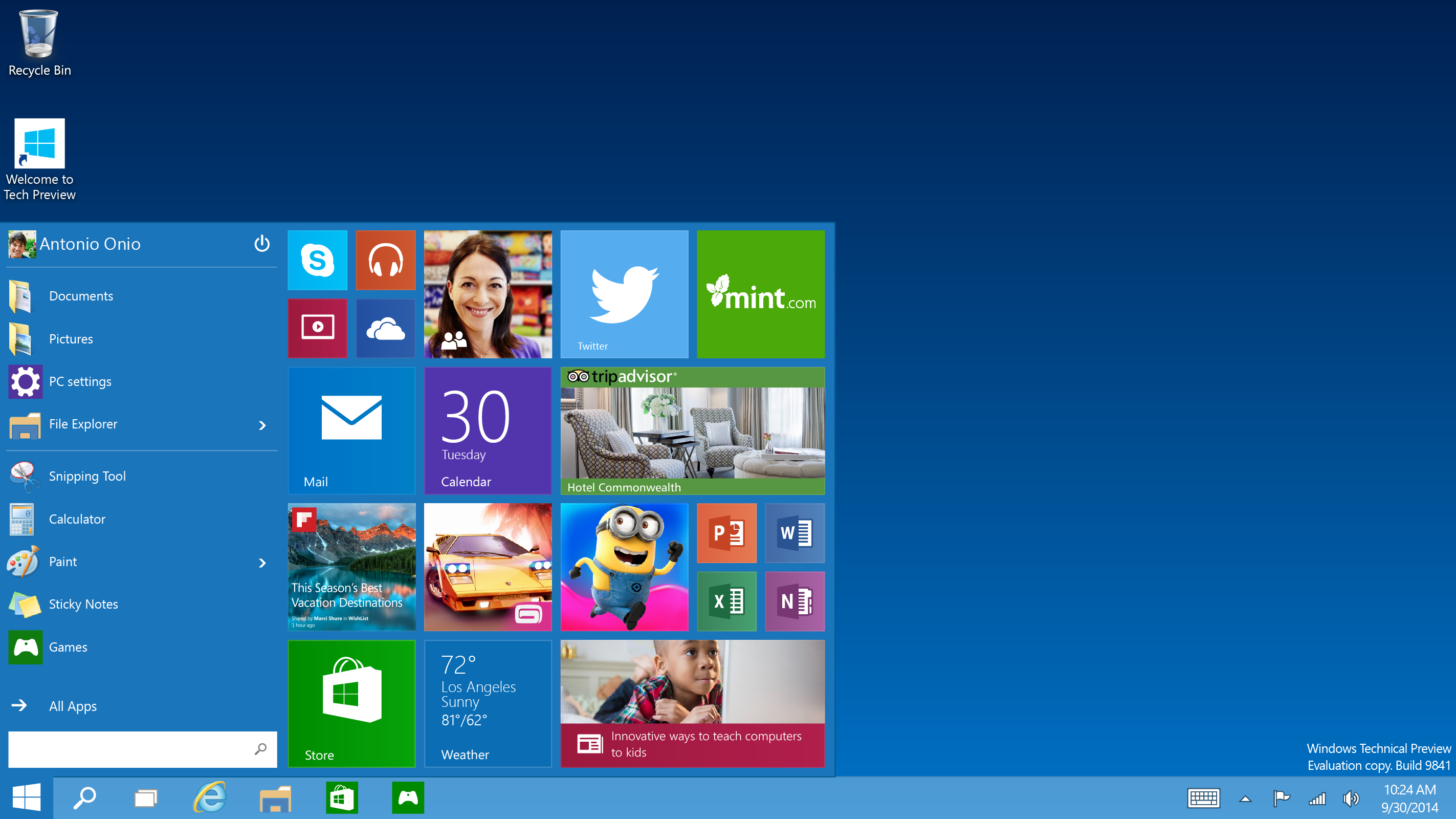 windows 10 corporate image